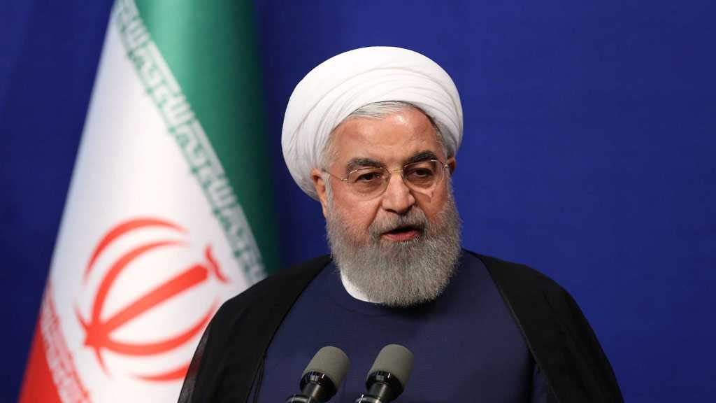 Rouhani Protests White House's Inhumane Sanctions, Crimes Against Humanity