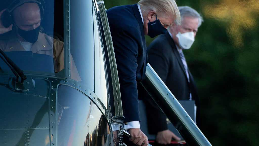 Trump Taken to Military Hospital After Contracting COVID-19