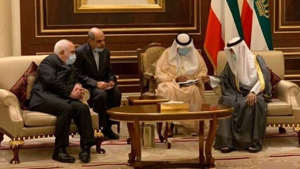Zarif Meets with Kuwait's New Emir