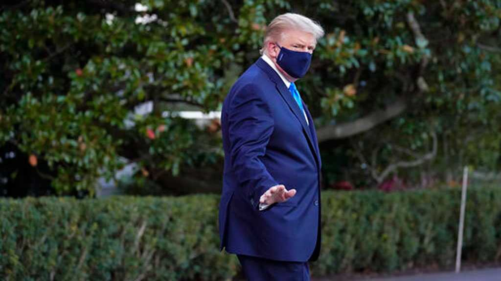 Trump Leaves Hospital Briefly 'To Greet Supporters Outside'