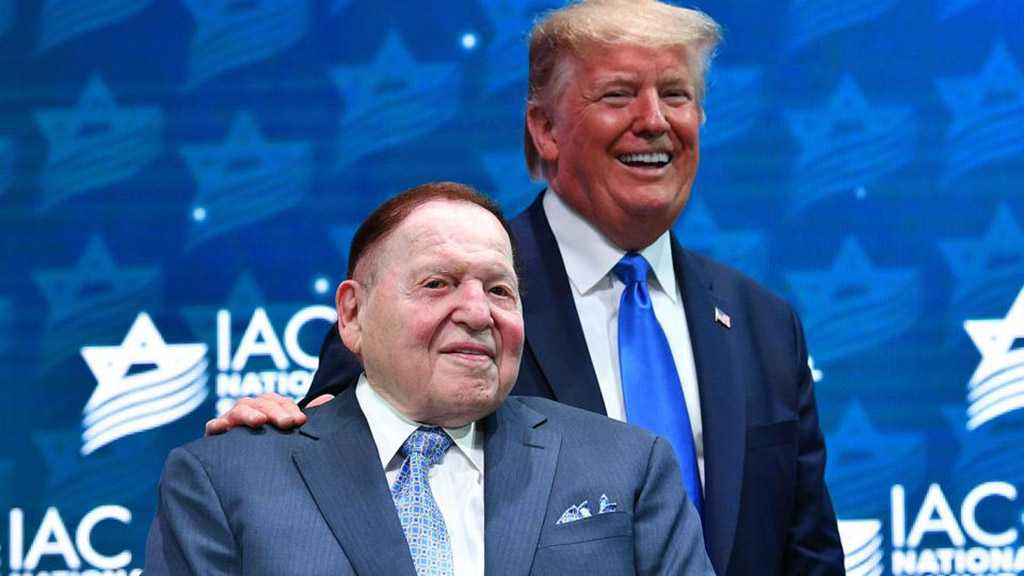 Zionist Sheldon Adelson Injects $75 Million into Flagging Trump Campaign