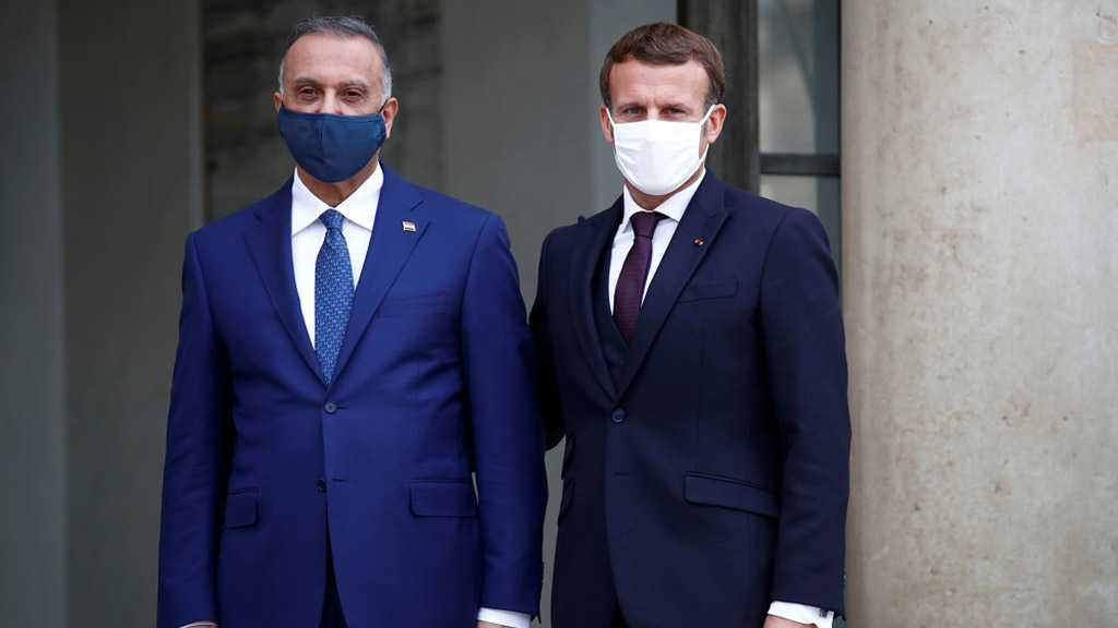 Macron, Iraq PM Highlight Importance of Fight against Terrorism