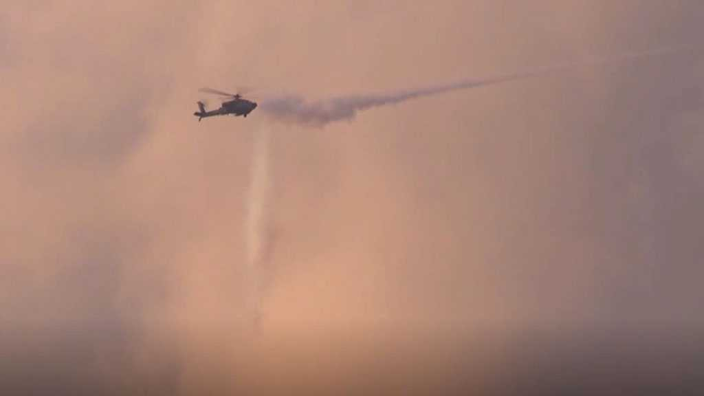 'Israeli' Warplanes, Helicopters Bomb Gaza