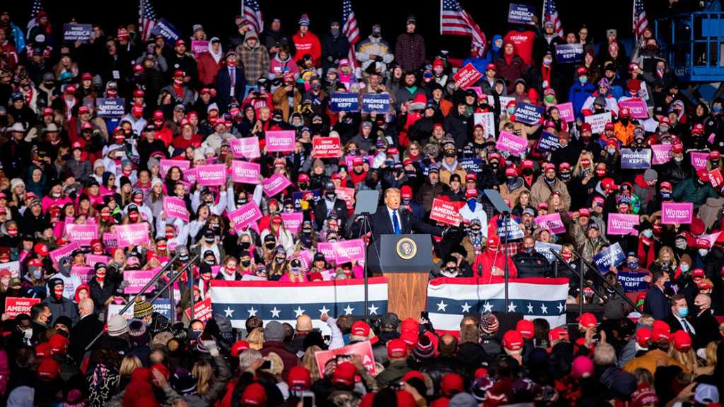 Trump Rallies Keep Packing in Thousands As COVID-19 Surges
