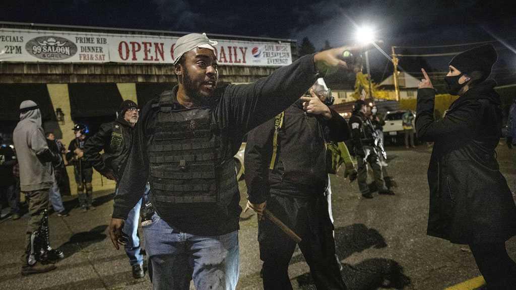 Unrest Erupts in Portland over Police Killing of Black Man