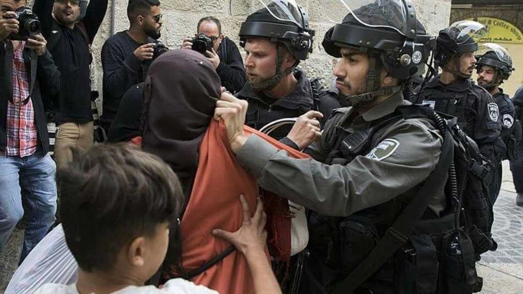 'Israeli' Soldiers Assault Mother, Son in West Bank