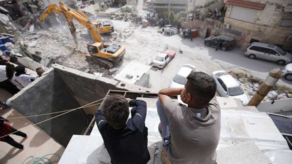 'Israel' Demolishes Record Number of Palestinian Homes in 2020