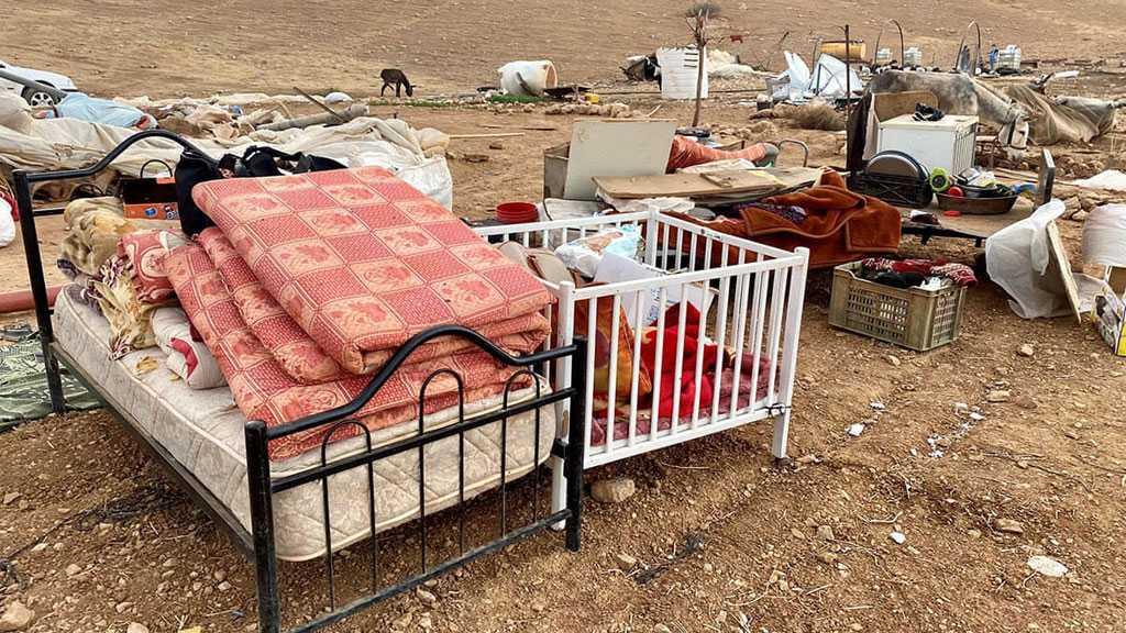 'Israeli' Occupation Leaves 41 Children Homeless After Razing Palestinian Village