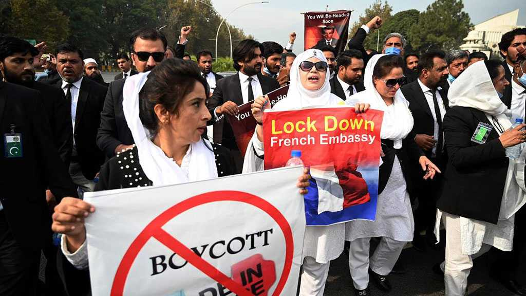 Pakistan's Capital Blocked Off Over Anti-France Protest