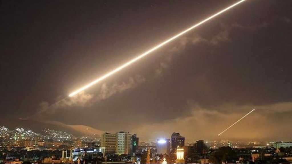 Syria Intercepts 'Israeli' Aggression Over Damascus, Casualties Reported