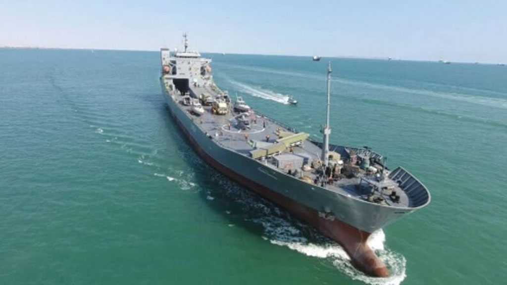 Aircraft-carrier Oceangoing Warship Joins IRGC Navy Fleet