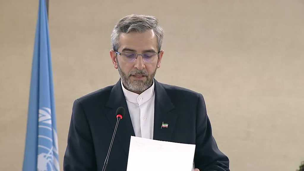 Iranian Official Writes to Guterres, Deplores UN's One-Sided Reports on Human Rights in Iran