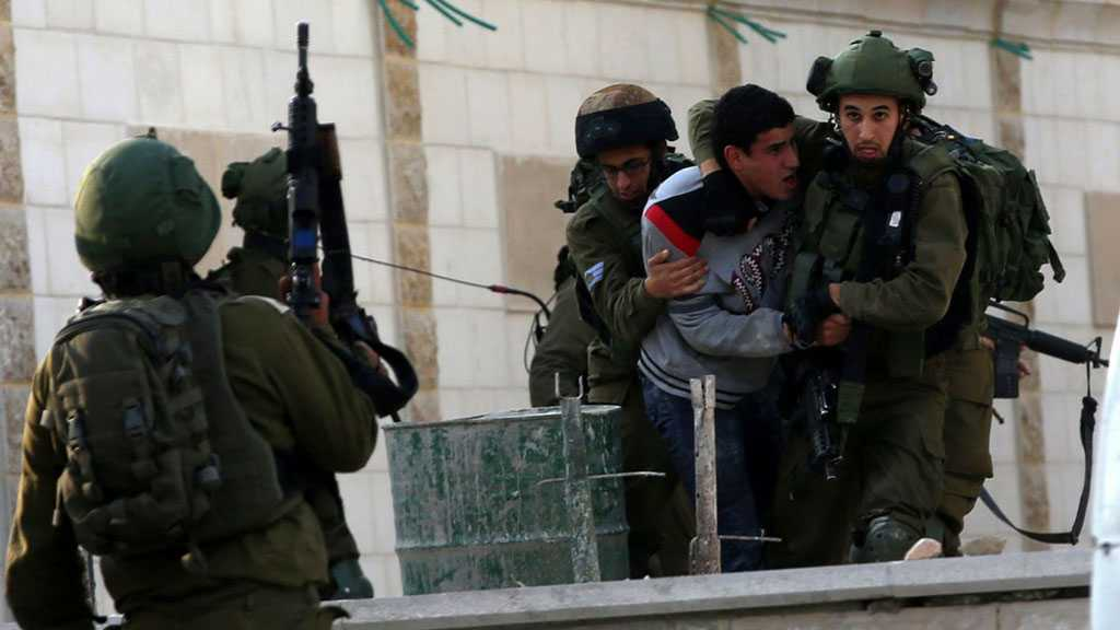 'Israeli' Occupation Troops Arrest Sixteen Palestinians In the West Bank