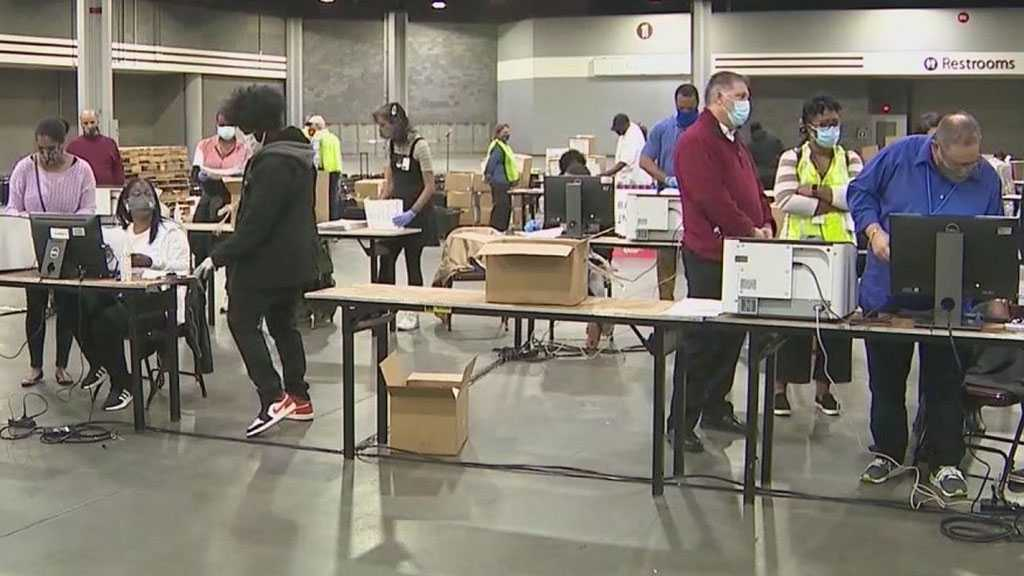 Votes Recount in Georgia's Fulton County Delayed Over Crashed Dominion Server