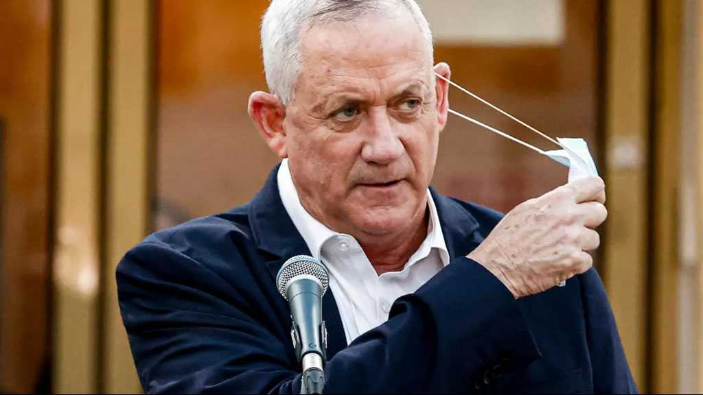 Gantz Says His Party Will Vote with the Opposition to Dissolve 'Israeli' Parliament