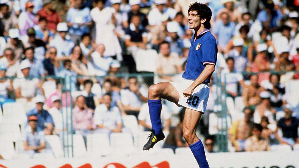Italy's World Cup Hero Rossi Dies Aged 64