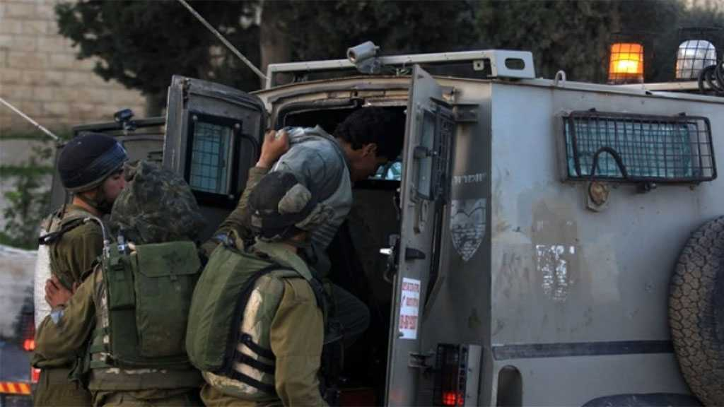 'Israeli' Occupation Forces Arrest Five Palestinians in the West Bank