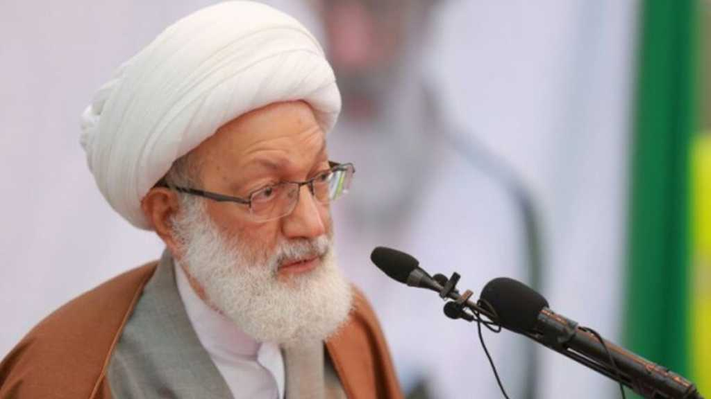 Sheikh Isa Qassim: Resistance Martyrs Are Our Pride, Model of Sacrifice