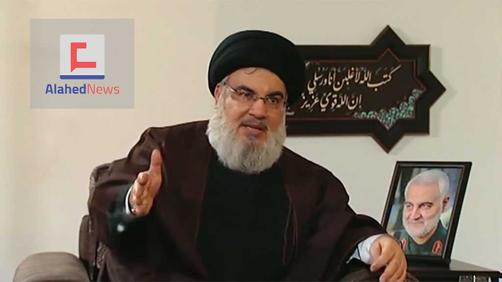 Sayyed Nasrallah: The Message Is Clear: Everyone Behind Soleimani, Al-Muhandis' Assassination Is A Target