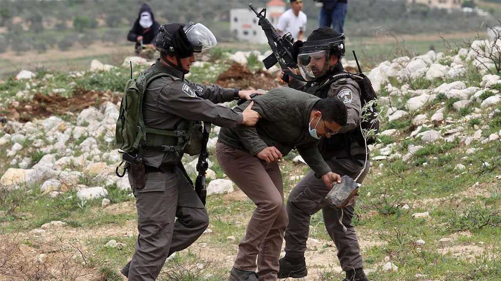 'Israeli' Soldiers Arrest Four Palestinians in the West Bank