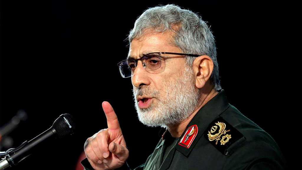 IRG Quds Force Commander: Decision to Avenge Martyr Soleimani's Assassination Taken, In Progress to Be Achieved