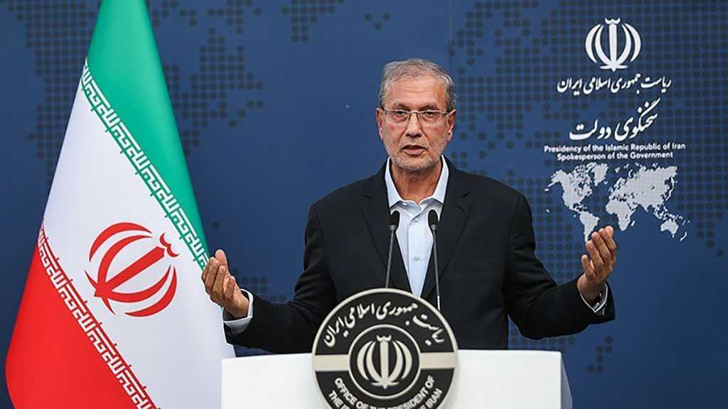 Iran Admin Spox: JCPOA Renegotiation Out of Question