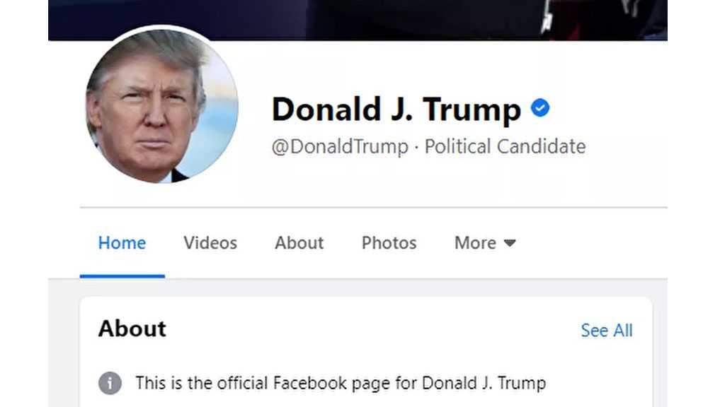 Trump Finds Facebook, Instagram Accounts Unblocked, Loses Presidential Status
