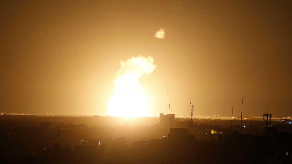 'Israeli' Warplanes Attack Besieged Gaza Strip