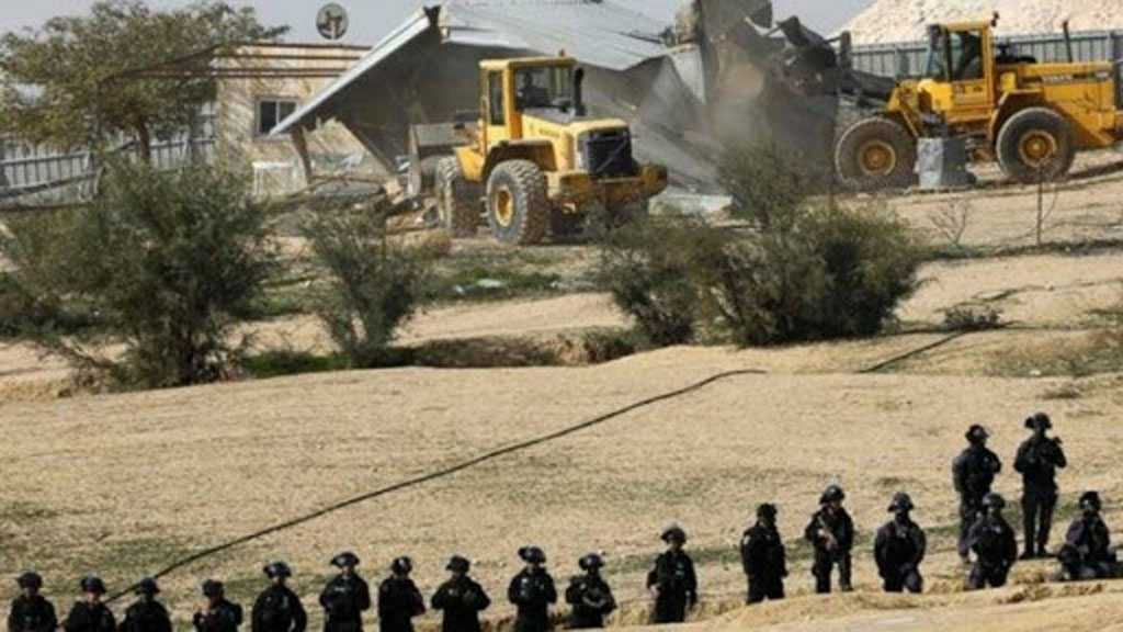 'Israeli' Forces Demolish Al-Araqib Village for the 182nd Time