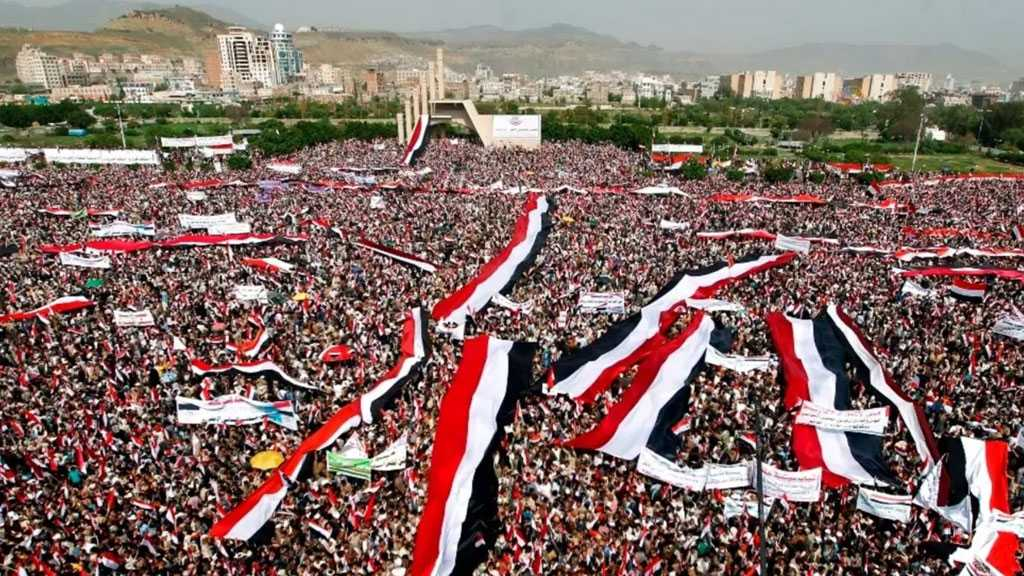 Yemenis Rally in Sanaa Against US Blacklisting of Ansarullah