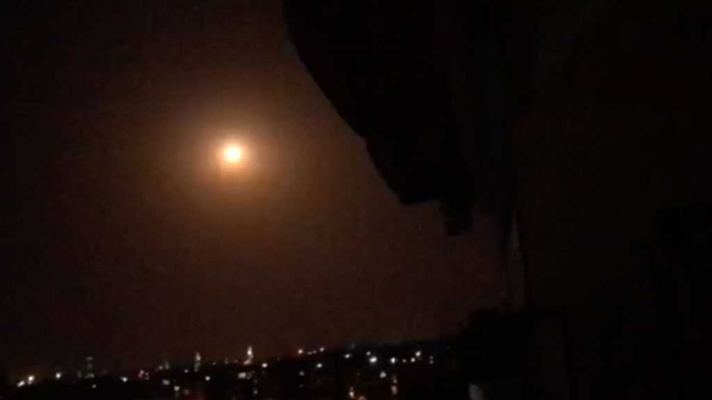 Syrian Air Defenses Intercept, Destroy 'Israeli' Missiles Over Hama