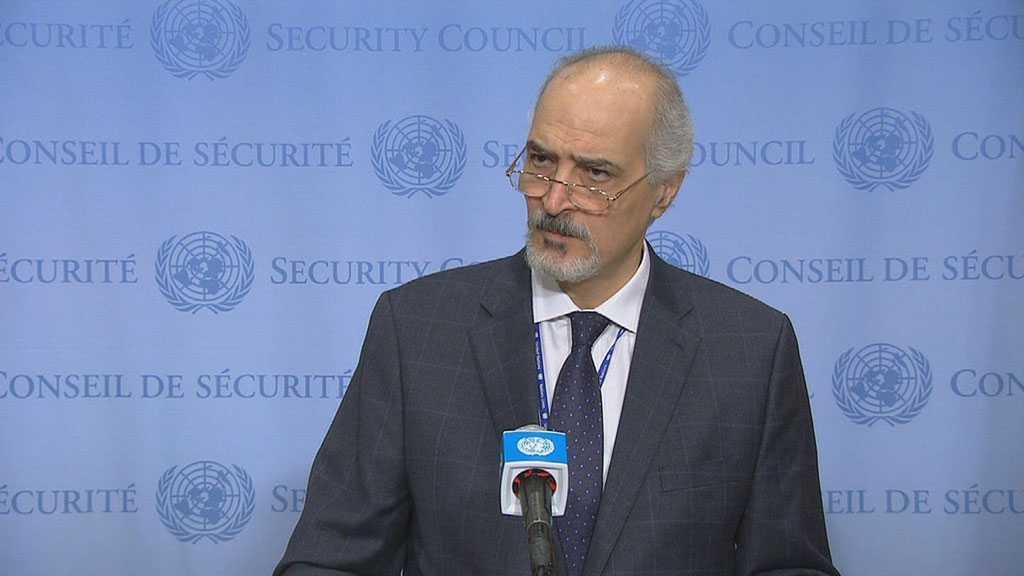 "Syria's Jaafari: ""Israeli"" Occupation of Arab Territories Threatens Regional Stability, Security"