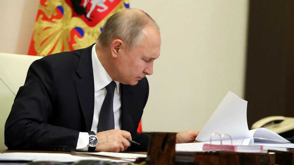 Putin Signs Law Extending New START Nuclear Treaty with US