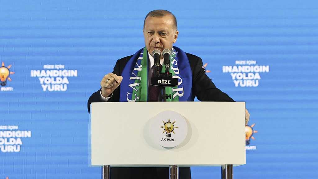 Erdogan: US Must Stop Supporting 'Terrorists', Either Stand with Turkey or Against It