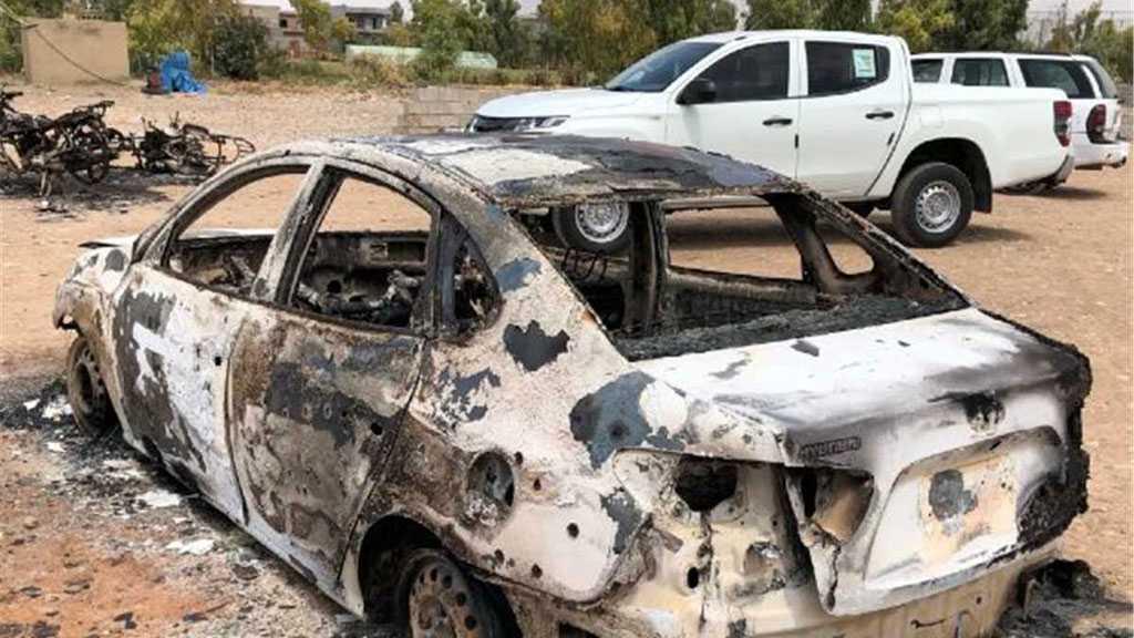 Roadside Bomb Targets US-led Coalition Trucks in Iraq