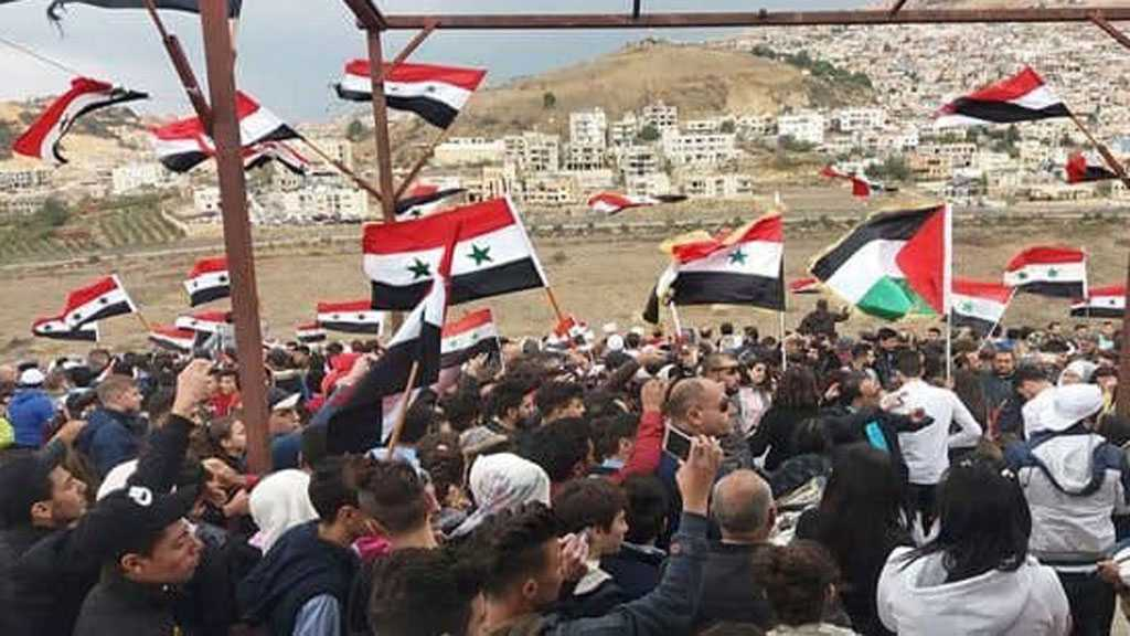 Two Syrian Captives Released from 'Israeli' Occupation Prisons