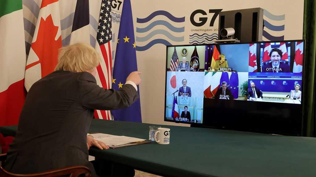 Johnson Tells Merkel to 'Mute' After She Talks Over Him