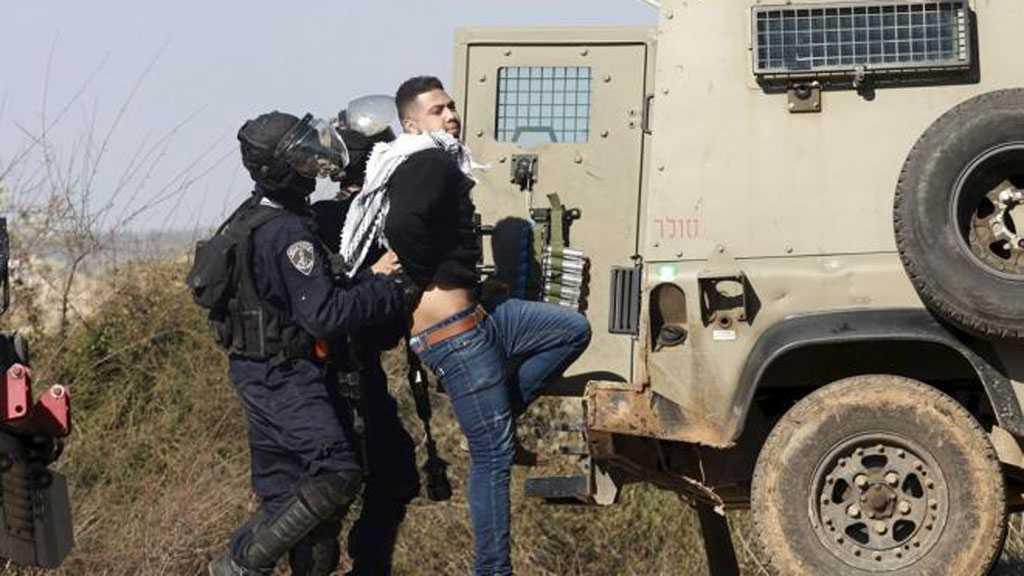 'Israeli' Forces Arrest Five Palestinians In Bethlehem
