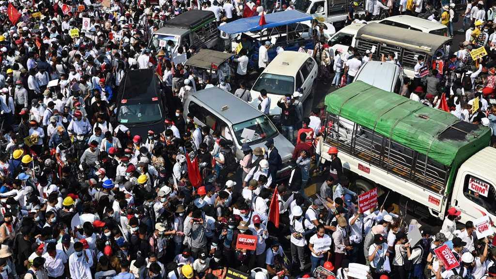 Myanmar Coup: Huge Rallies After Junta Threat