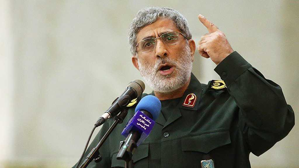 IRGC Quds Force Chief: US Knows Language of Force Only