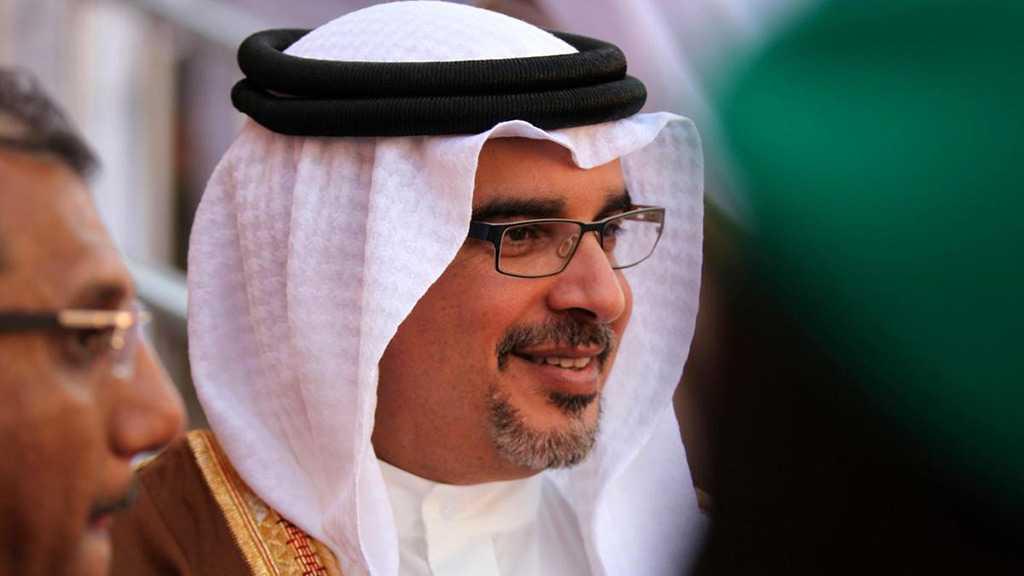 """Bahrain Crown Prince Calls """"Israeli"""" PM on Iran Nuke Talks"""