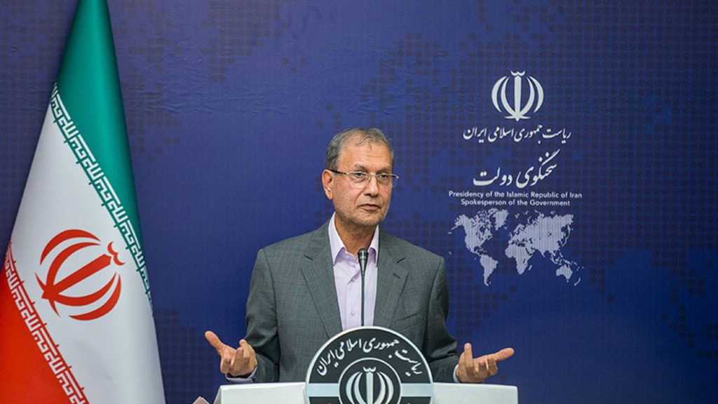 Iran Spox: US Talk of Diplomacy Unacceptable While Sanctions in Place