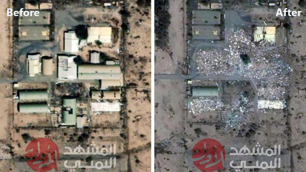 Yemeni Resistance Publishes Aerial Images Showing Damage in Saudi King Khalid Airbase