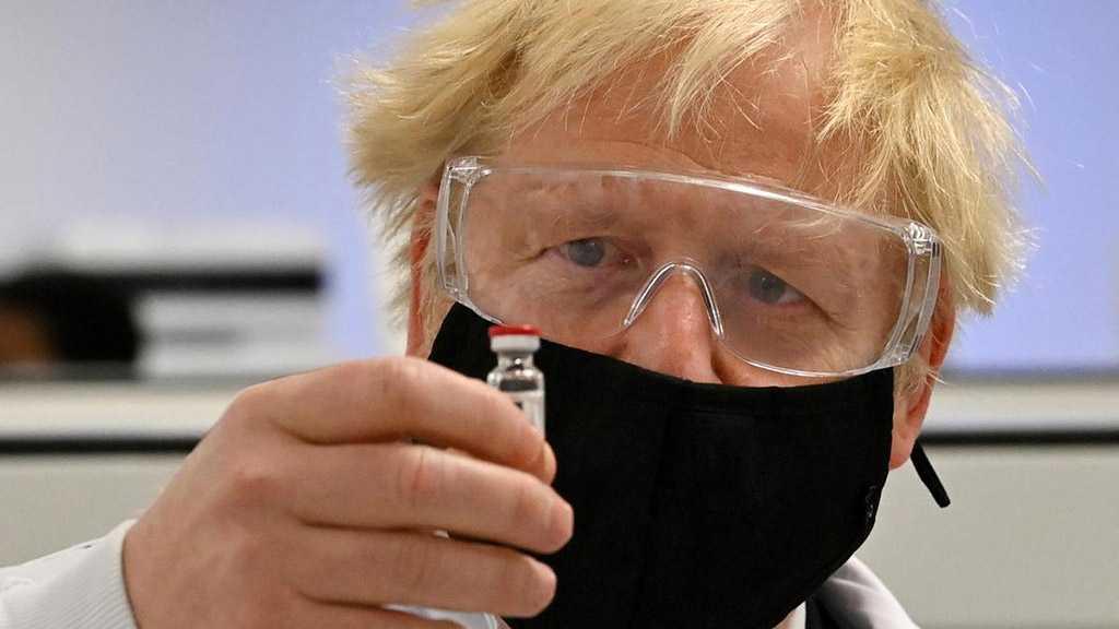 UK PM Johnson Backs AstraZeneca COVID-19 Vaccine after Countries Halt Jab