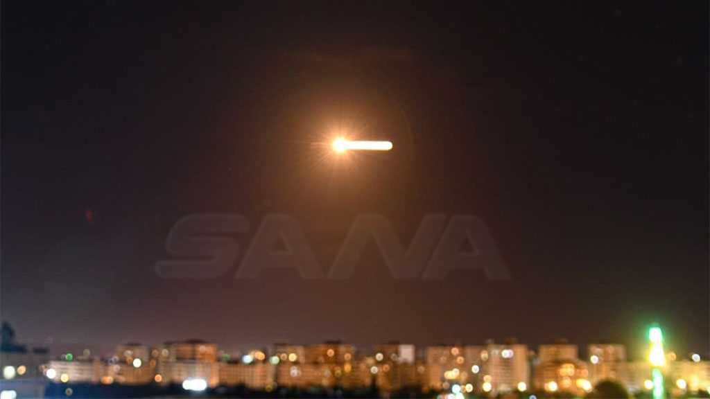 Syrian Air Defenses Shoot Down 'Israeli' Missiles near Damascus