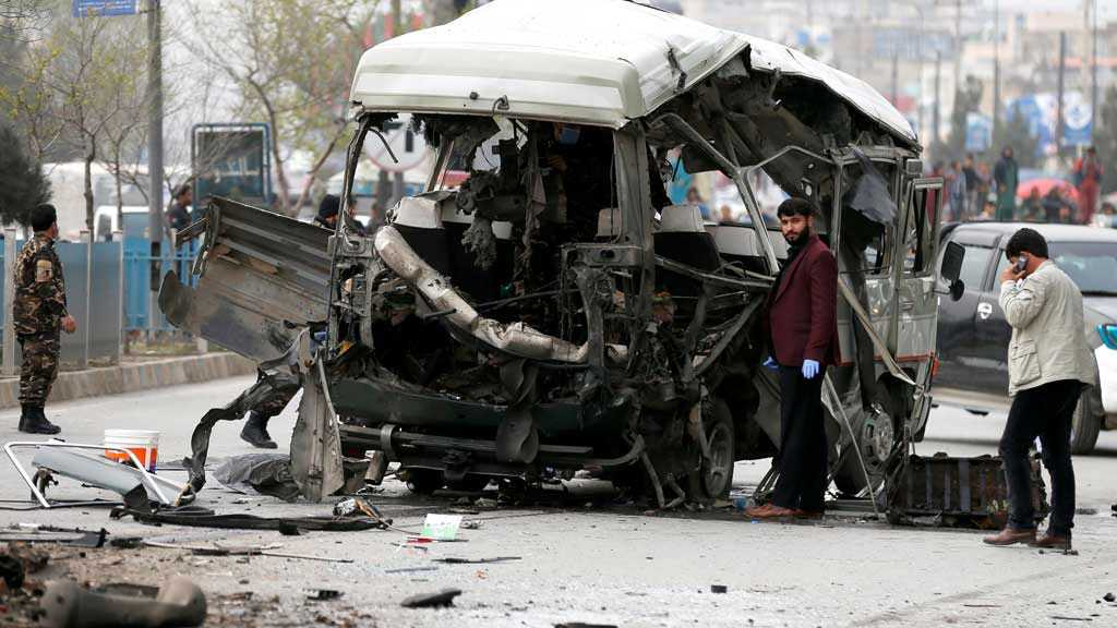 Afghanistan: Four Killed in Government Bus Bombing, Nine Die in Helicopter Crash
