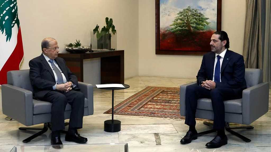 Lebanese President Aoun Tells PM Designate Hariri to Form Gov't Quickly or Quit