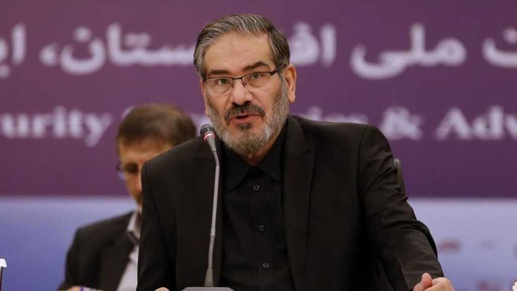 Shamkhani: No Solution to Current Impasse Unless US Removes Sanctions