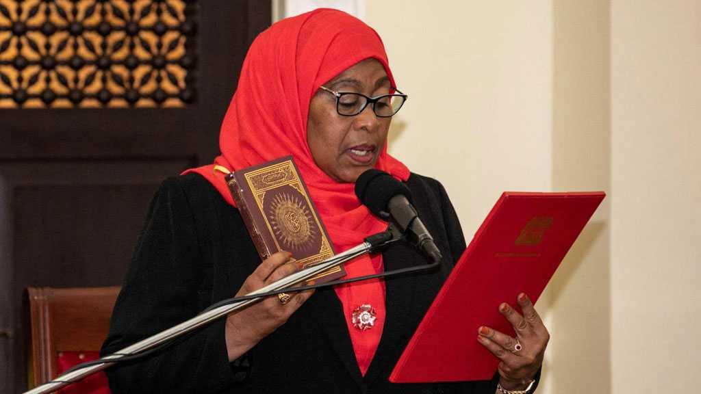 Tanzania Swears in First Female President