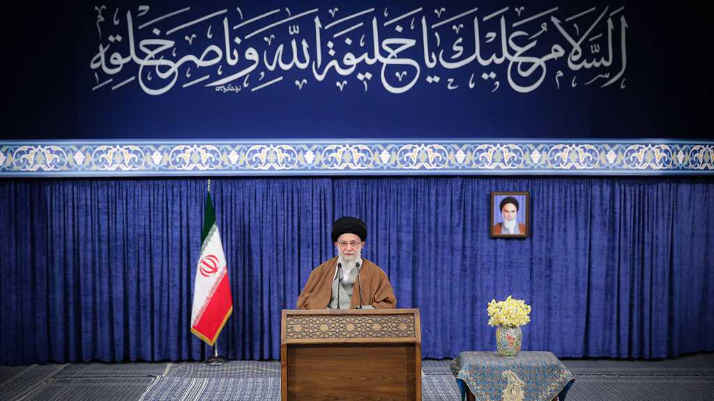 "Year of Support, Elimination of Obstacles: Imam Khamenei Labels New Year of ""Production"" in Nowruz Message"